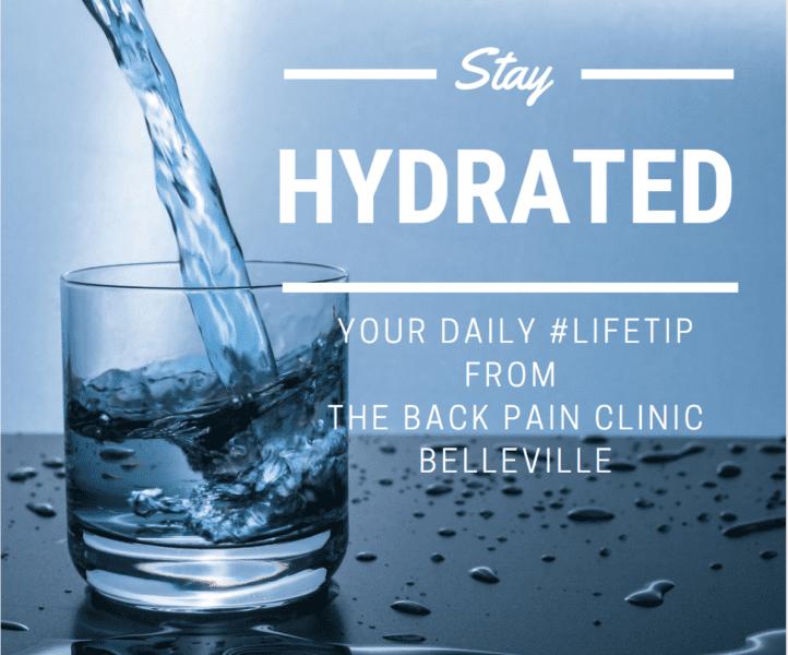 drink water chiropractic