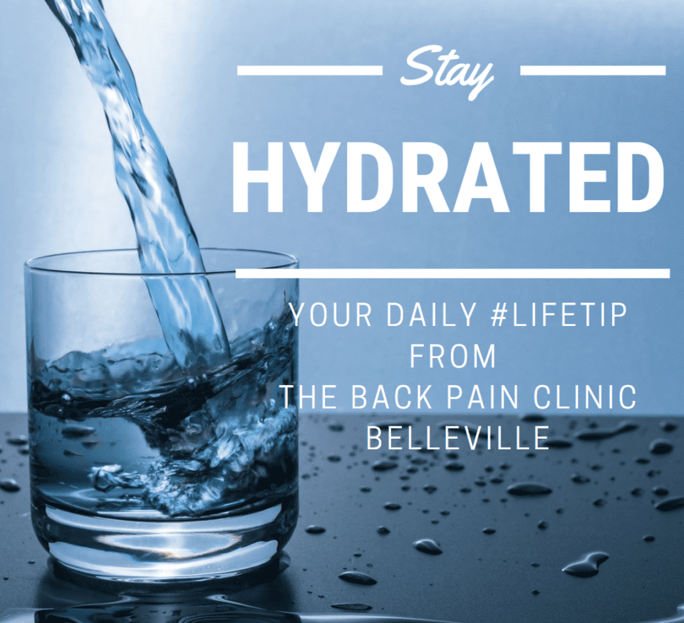drink water chiropractic